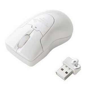 エレコム ワイヤレスレーザー式マウス(ホワイト) HELLO KITTY[ M-BGDLKTWH ]