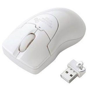 エレコム ワイヤレスレーザー式マウス(ホワイト) HELLO KITTY[ M-PGDLKTWH ]