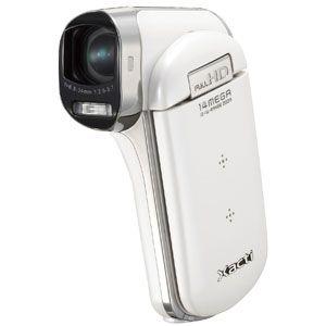サンヨー ハイビジョンムービーカメラ(ホワイト) SANYO Xacti(ザクティ)CG100[ DMX-CG100-W ]