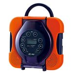 ツインバード 防水CDプレーヤー (オレンジ) CD ZABADY ザバディ AV-J165[ AV-J165OR ]