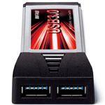 BUFFALO USB3.0増設対応 ExpressCard用 インターフェース [ IFC-EC2U3/UC ]