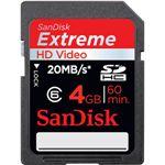 サンディスク SDHCメモリーカード 4GB Class6 [ SDSDX3-4096-J21N ]