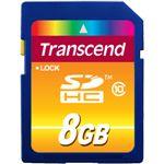 transcend SDHCメモリーカード 8GB Class10 [ TS8GSDHC10 ]