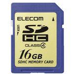 エレコム SDHCメモリーカード 16GB Class4 [ MF-FSDH16G ]