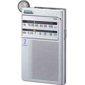 ソニー FM/AMポケッタブルラジオ [ ICF-R46-S ]