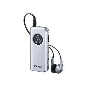 ソニー FMステレオ/AM PLL シンセサイザーラジオ [ SRF-M98-S ]