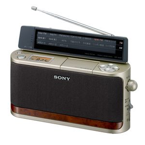 ソニー FM/AM PLL シンセサイザーポータブルラジオ [ ICF-A101-N ]