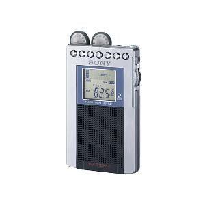 ソニー FMステレオ/AM PLL シンセサイザーラジオ [ SRF-R431-S ]