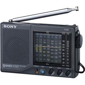 ソニー FM/MW/SW1-7 ワールドバンドレシーバー [ ICF-SW23 ]