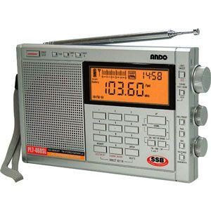 アンドー PLLシンセサイザーラジオ [ PL7-468SL ]