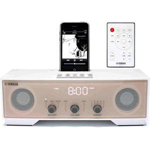 ヤマハ iPod/iPhone用クロックラジオ アイボリー YAMAHA TSX-80[ TSX-80C ]