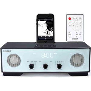 ヤマハ iPod/iPhone用クロックラジオ ライトブルー YAMAHA TSX-80[ TSX-80AL ]