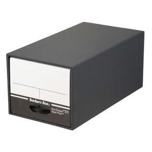 Fellows バンカーズBOX 311ボックス(黒)(引き出し式:1個) [ バンカ-ズBOX(31001) ]