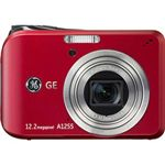 GE デジタルカメラ(レッド) [ A1255-R ]