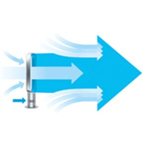 Dyson(ダイソン) 羽根のない扇風機 air multiplier(エアマルチプライアー) AM 02 IB アイアン/サテンブルー 【扇風機】