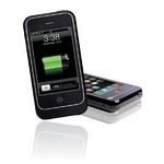 Q-Power iPhone用 充電池付きケース ★3G対応 (ブラック)