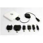 Q-Power i-phone、i-pod & ドコモXPERIA用  充電池 ホワイト