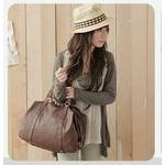 超人気ファッションかばん◇大きめサイズ●ブラウン色