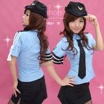 コスプレ 婦警*リアル交通課婦警さんのコスプレ/制服 5333