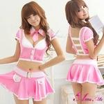 コスプレ 女子高生ミニスカセーラー服コスチューム3点セット コスプレ 【2010新作】