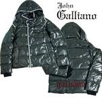 John Galliano(ジョンガリアーノ) メンズ ダウンジャケット/ブラック 2011年秋冬新作