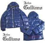 John Galliano(ジョンガリアーノ) メンズ ダウンジャケット/ブルー 2011年秋冬新作