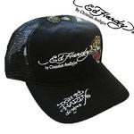 Ed Hardy(エドハーディー) キャップ BASIC CAP/ TIGER SIGNATURE タイガー/ 刺繍 ベーシック/ ブラック【A1N0AAAZ】