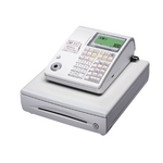 カシオ レジスター TE-300 ホワイト【PC接続ケーブルパターンAセット】