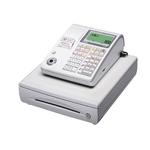 カシオ レジスター TE-300 ホワイト【ロールペーパー5巻、PC接続ケーブルパターンBセット】