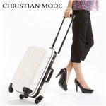 CHRISTIAN MODE(クリスチャンモード) TSAロック付 20インチハードキャリー ホワイト