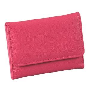 マルチに使える♪スマート手のひら財布(ピンク)