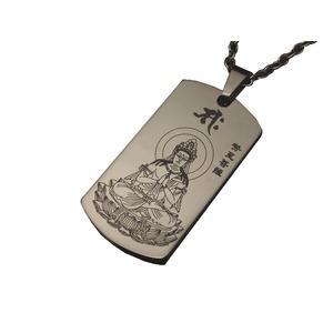 八尊仏チタンペンダント(午)
