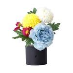 リモコン付き 仏花 ブルー