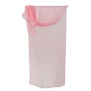 お洒落de涼しげな ファッションシルクストール ピンク