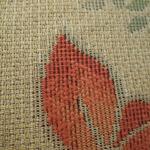 ボタニカル柄 クッションカバー 単品 【ベージュ】 43cm×43cm スペイン製生地使用 ファスナー付き 洗える 『タモガ』
