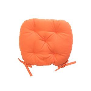 シートクッション バテイ型 オレンジ