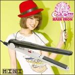 ChouChouPro HAIR IRON mini(シュシュプロヘアアイロンミニ) 高速起動のかわいいアイロン【ブラック/ホワイト】