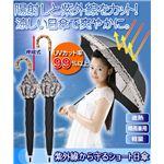 紫外線から守るショート日傘