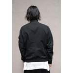 JULIUS ジャットネックボマージャケット BLACK サイズ2