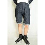 VADEL  intuck trousers shorts INDIGO COMB サイズ48