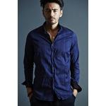 VADEL collar separated shirts NAVY サイズ44