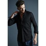 VADEL swedish pull-over shirts BLACK サイズ44