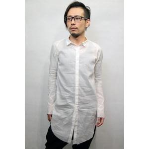 lien ワンピースアームロングシャツ WHITE サイズ46