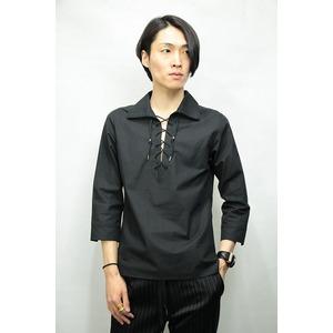 QL Mansion Maker プルオーバーシャツ BLACK サイズ44