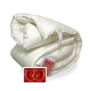 ハンガリー産ホワイトダウン93% 羽毛布団 セミダブル