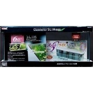 GEX(ジェックス) グラステリアスリム600 6点セット (水槽セット) 【ペット用品】
