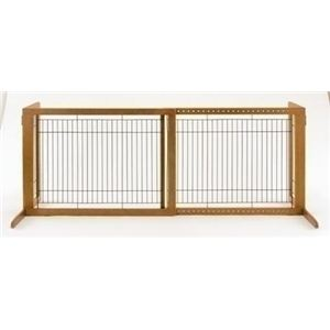 Richell(リッチェル) 木製おくだけゲート ハイW (犬用ゲート) 【ペット用品】