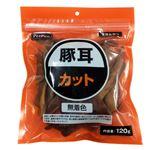 (まとめ)ペットプロ ペットプロ 豚耳カット120g (ドッグフード)【ペット用品】【×25 セット】
