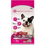 (まとめ)ウェルケア フレンチ・ブルドッグ専用 シニアステージ 3kg【×4セット】【ペット用品・犬用フード】
