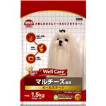 (まとめ)ウェルケア マルチーズ専用 オールステージ 1.5kg【×4セット】【ペット用品・犬用フード】